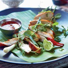 lemongrass cilantro chicken with honey dipping sauce lemongrass ...