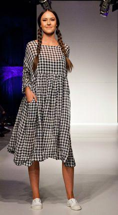 Linen Gingham Dress MegbyDesign
