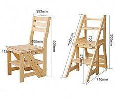 Chair Ladder Stepping Stool Furniture Design Diy
