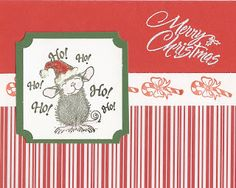 Stampin' Up! Obsession....: Sharing Homemade Christmas Cards