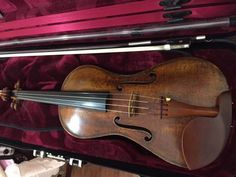 "Stradivari crafted a ""cornerless"" #violin, the 1726 ""Chanot-Chardon"" #Stradivarius violin, during his later period."