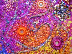 I ❤ the beadwork & embroidery . . .   Shisha detail
