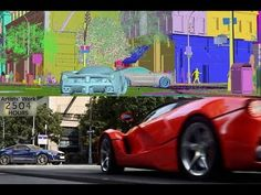 "CGI 3D Breakdown HD: ""Making of The Crew Launch Trailer"" by Unit Image"