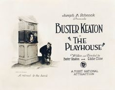 Buster Keaton - The Playhouse