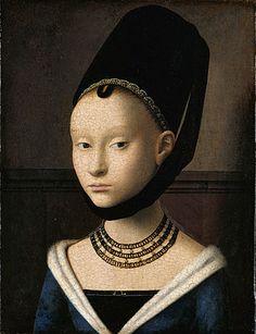 Portrait of a Young Girl (1465-1470) - Petrus Christus