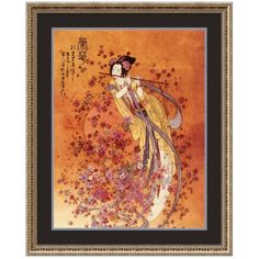 Amanti Art Wall Art, Goddess of Prosperity Framed Art Print ($170) ❤ liked on Polyvore featuring home, home decor, wall art, wooden home decor, wood home decor, wooden wall art, framed wall art and wood wall art