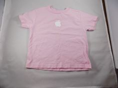 Girls Apple T-shirt Size 4Y #Apple #Everyday