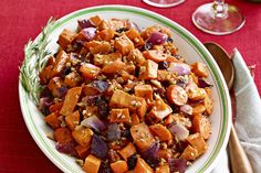 Maple Roasted Sweet Potatoes & Carrots Recipe - Healthy Living Kraft Recipes- Paleo without mayo Roasted Potato Recipes, Carrot Recipes, Roasted Sweet Potatoes, Vegetable Recipes, Healthy Recipes, Kraft Recipes, Roasted Winter Vegetables, Glazed Carrots, Side Recipes