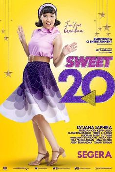 Sweet 20 | Starvision & CJ Entertainment | @odyHarahap | Coming Soon Official Teaser Dan Poster #Sweet20 https://reviewmoviemagz.blogspot.co.id/2017/03/sweet-20-starvision-cj-entertainment.html