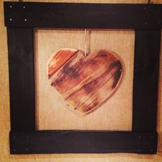 #Heart Solo - #recycle #riciclocreativo #homedecor #wood #pallets #riciclo #design
