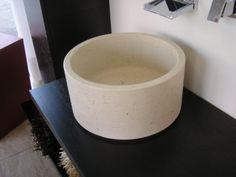 Lavabo bagno in marmo Veselie