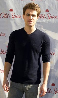 Oh ima make my boyfriend wear some Old Spice now since Paul Wesley looking so good with it