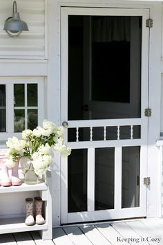 Screen doors http://media-cache8.pinterest.com/upload/199213983487124627_GyzpzoMf_f.jpg stephrmw for the home