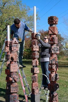 Niles North H.S. Sculpture Project | Flickr - Photo Sharing!