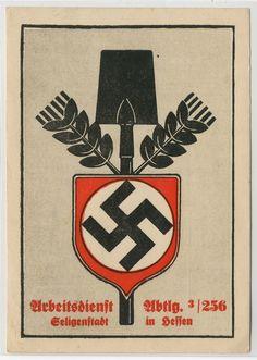 SELIGENSTADT,Hessen - ARBEITSDIENST Abtlg. 256 - Seligenstadt 1935