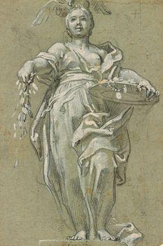 Italian School | 17th century | Liberality | The Morgan Library & Museum