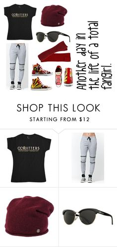 """set18"" by whatpandas on Polyvore featuring LA: Hearts, Tommy Hilfiger, Vans and Converse"