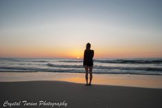 """""""Who looks outside dreams; who looks inside awakens"""" -Carl Jung. Sun Rise over the Atlantic Ocean  www.crystalturinophotography.com #sunrise #ocean #silhouette"""