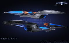Star Trek Odyssey Class Final01 by vnm51.deviantart.com on @DeviantArt