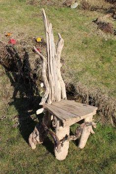 Driftwood Statement Chair, Drift wood Statement Chair, Driftwood Garden seat, UK £325.00