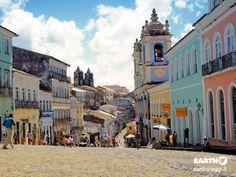 Salvador de Bahia, #Brasile. #Viaggiare #Earthviaggi