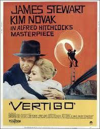 Vertigo.  Jimmy Stewart and Hitchcock- an epic pairing. Love.