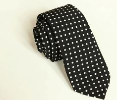 Dotty necktie