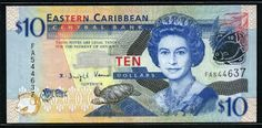 World Bank Notes & Coins :   Country:Eastern Caribbean Currency:10Eastern ...