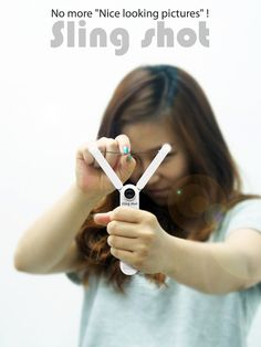Sling Shot Camera Concept by Sung Young Um & Jung Eun Yim Packaging, Slingshot, Pictures Of People, Cool Inventions, Leica, Digital Photography, Creative Photography, Photography Ideas, Digital Camera