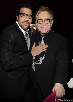 with Lionel Richie