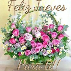 ¡ Feliz jueves¡ Happy Thursday