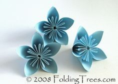 A tutorial on how to make kusudama flowers. I used these as part of the decor in my wedding.