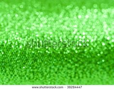 Abstract green glitter soft focus background