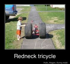 You're a redneck