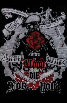 "Lyrics -Dropkick Murphys ""Rose Tattoo"""