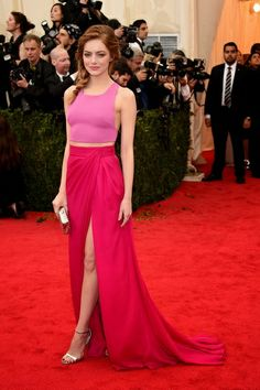 Emma Stone at the Met Ball 2014