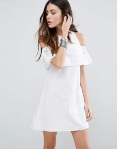 Wish List: Chase the Sun in ASOS' Broderie Minidress