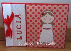 Scrap con Raquetuille: Otro libro de firmas para comunión