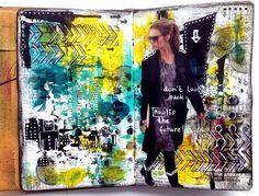 skorpionens rede: March mood board at Scrap Around the World - art journal
