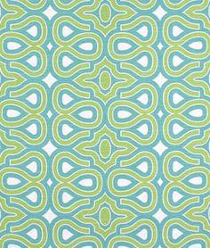 HGTV Turtle Shell Turquoise Fabric - $17.3 | onlinefabricstore.net