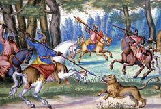 Chasse au lion dans l'Empire Ottoman
