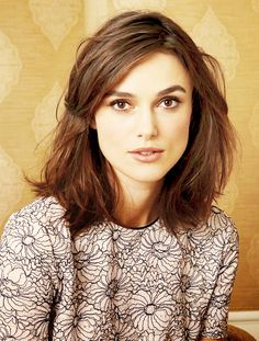 Keira Knightley -- I want this as my hair grows out.