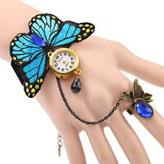 JUBAOLI A1086 Female Quartz Watch with Ring Bracelet Butterfly Design #hats, #watches, #belts, #fashion, #style