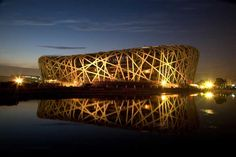 Bird's Nest - Chinese Nat. Stadium Building Arup, Herzog & De Meuron, China Architecture Design & Research Group