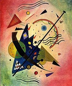 Wassily Kandinsky - Composition 1910 Oil More