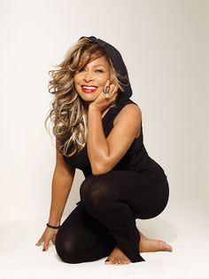 73 years old.  gorgeous as ever! Happy Birthday. True icon. TINA