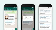WhatsApp Launches New Google Search Prompt In-Stream to Help Verify Highly-Forwarded Messages | Social Media Today Whatsapp Marketing, Cv Online, Reverse Image Search, Disco Duro, Instant Messaging, Distinguish Between, Search Icon, Job Search, Internet