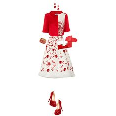 """""""Sweet Red"""" by angela-windsor on Polyvore"""