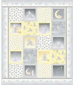 Cobbles Quilt Kit, featuring Little Star fabrics by Bunnies By The Bay.  Just adorable.