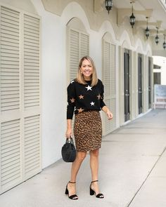 J's Everyday Fashion Outfits Photo Gallery for January - July 2015 Stylish Outfits, Fall Outfits, Girly Outfits, Sweater Skirt Outfit, Js Everyday Fashion, Plaid And Leopard, Animal Print Skirt, Animal Prints, Sweaters And Jeans
